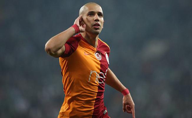 Galatasaray'da Feghouli alarmı