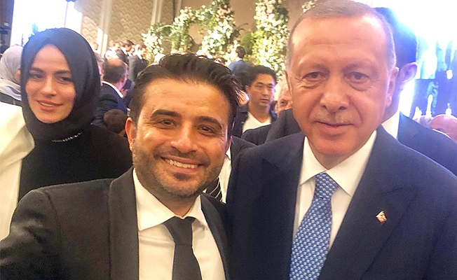 Cumhurbaşkanı Erdoğan ile Lami Uyar Çırağan Sarayı'nda bir araya geldiler
