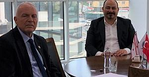 Meclis Başkan Yardımcısı Milletvekili Zorlu Töre Yusuf Kısa'yı ziyaret etti